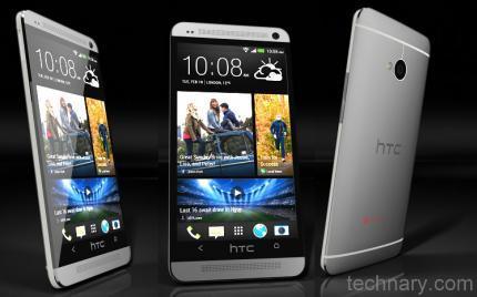 HTC 801e full view