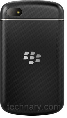 blackberry Q10 backside