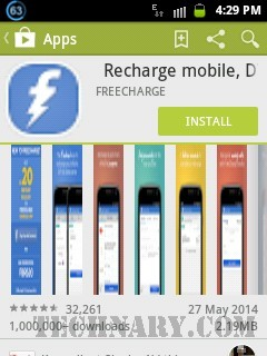 FreeCharge Android App