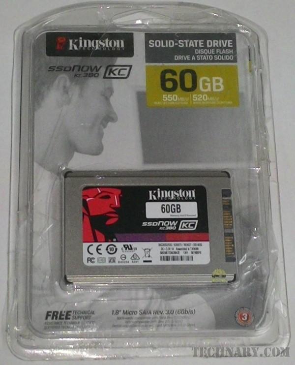 Kingston SSDNow KC380 60GB SSD