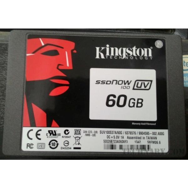 Kingston SSDNow UV 100 60GB