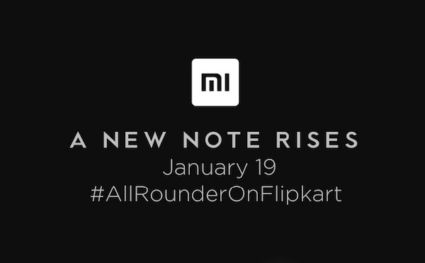 Xiaomi Redmi Note 4 will be exclusively launched on Flipkart
