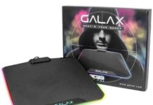 GALAX SNPR RGB Gaming Mouse Pad launched for Rs.5,500