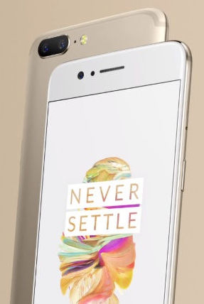 OnePlus 5 Soft Gold Limited Edition launched for Rs.32,999