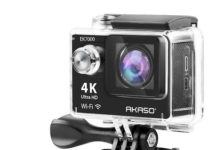 AKASO EK7000 WiFi Sports Action Camera launched