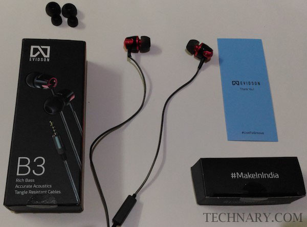 Evidson B3 Review - Earphones with Rich Bass