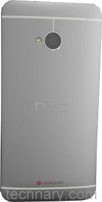 HTC One 801e back