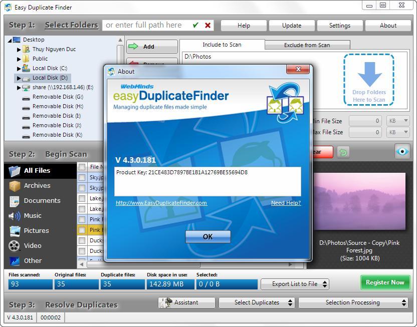 Easy Duplicate Finder2