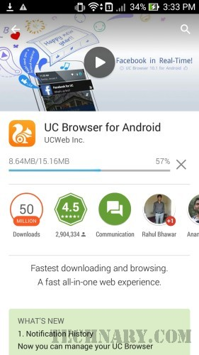 UC Browser Android App Review -