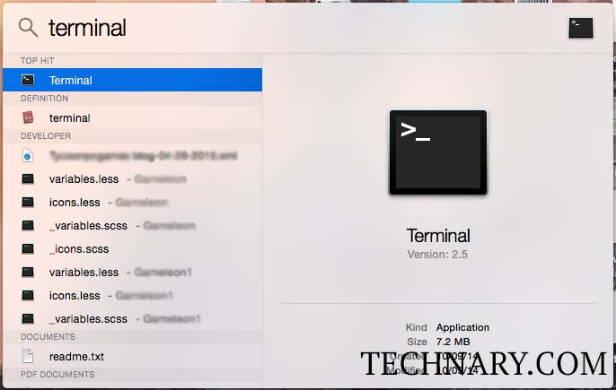 how to open documents in terminal mac