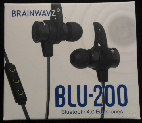 Brainwavz BLU-200 Review - Bluetooth 4.0 Earphones