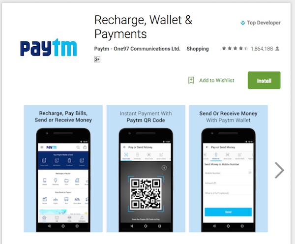 How to make cashless transactions using Paytm - Technary