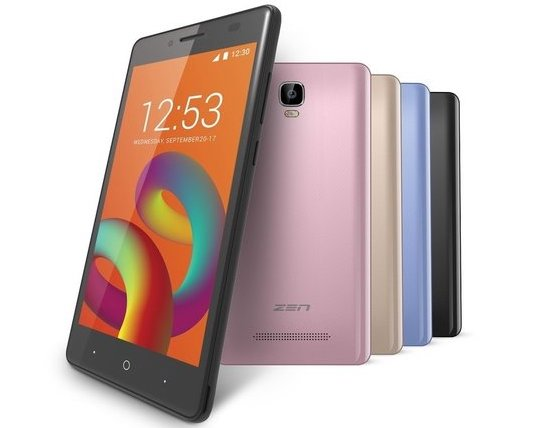 Zen Admire Unity launched for INR 5,099
