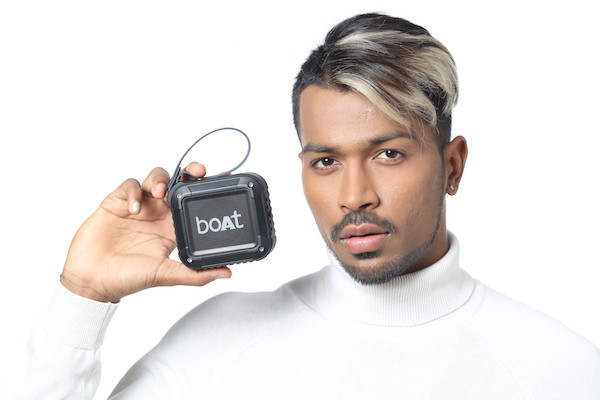 boAt is one of the brand in audio technology world. They have depicted collision of music, action sports and fashion. They have announced that All rounder Hardik Pandya has now become its Brand Ambassador for Audio Range.