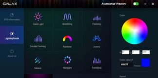 GALAX Aurora Vision software launched