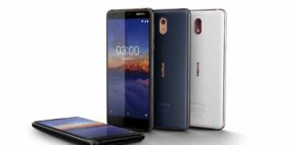 Nokia 3.1 launched for Rs 10499