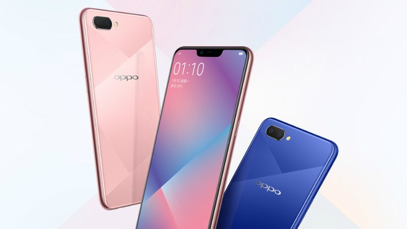 Oppo A5 launched in China
