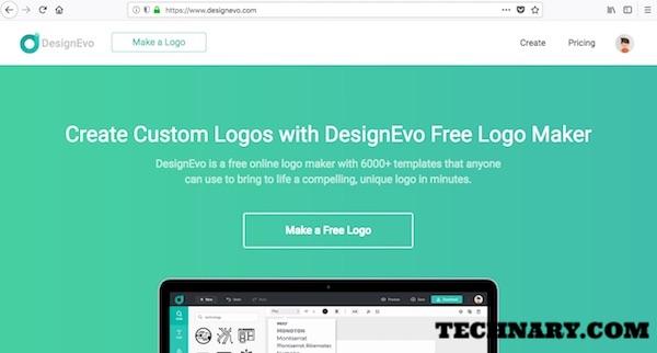 Designevo Review Business Logo Design Maker Online Tool Technary