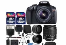 Canon EOS Rebel T6 Digital SLR Camera Overview