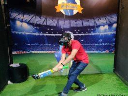 IB Cricket VR Gaming Experience
