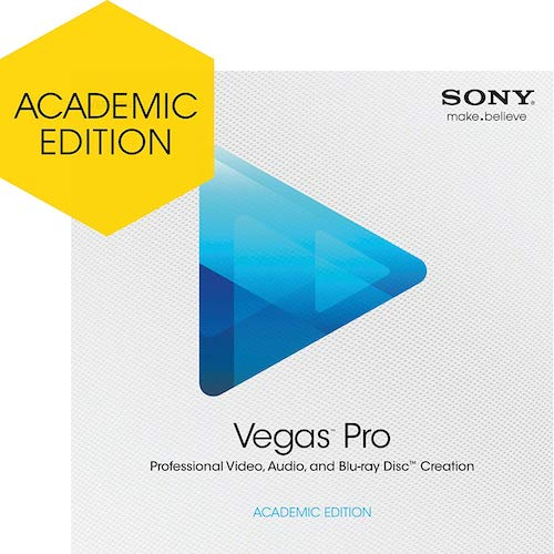 Sony Vegas Pro 12 Academic Version now available