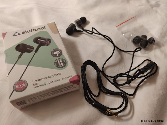 Stuffcool Bac Review - Budget friendly Wired earphones