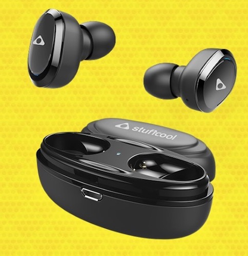 Stuffcool Stuffbuds - Wireless Earbuds launched