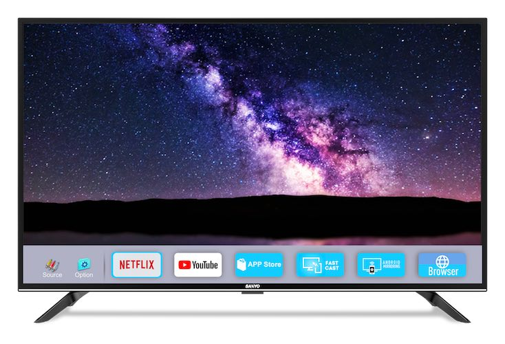 Sanyo Smart TV Nebula Series launches 2 devices in India