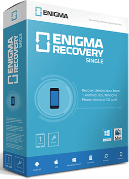 Enigma Recovery Review - Recover Deleted files from iOS devices
