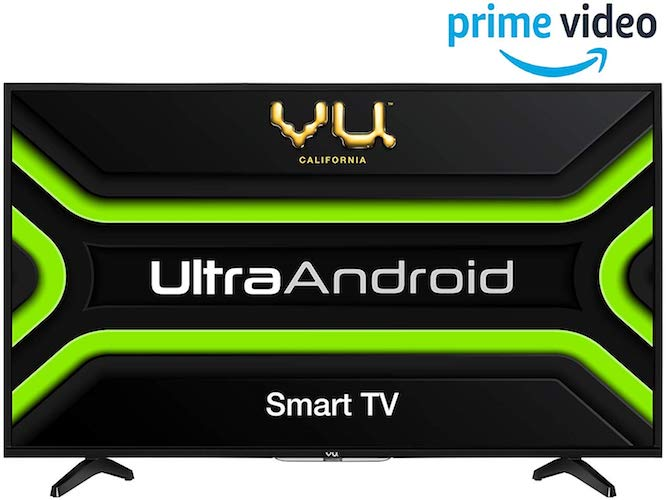 Vu 80 cm (32 inches) HD Ready Smart Certified Android LED TV 32GA (Black) (2019 Model)