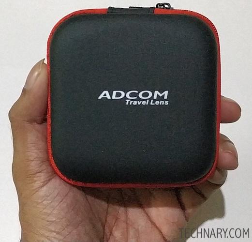 Adcom Full Screen Super Wide Angle Clip On Mobile Phone Camera Lens Review