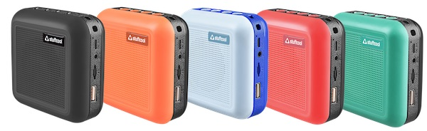 Stuffcool Theo Portable True Wireless Stereo Bluetooth speaker with Mic launched
